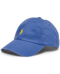 Polo Ralph Lauren Men's Big And Tall Chino Sports Cap Derby Blue