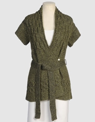 Rachel Roy Signature Cardigans Military Green