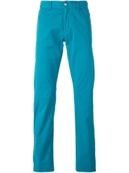Canali Classic Chinos Blue