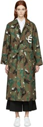 Etudes Studio Green Camo Quartet Coat
