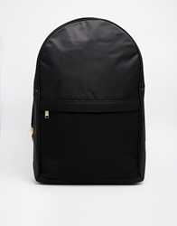 Mi Pac Maxwell Satin Mesh Backpack Black