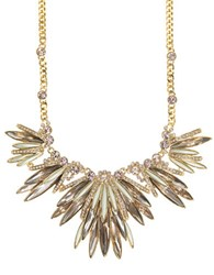 Givenchy Austrian Crystal Goldtone Y Necklace