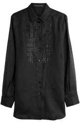Ermanno Scervino Embroidered Button Down