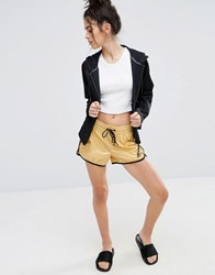Puma Gold Shorts Pale Gold