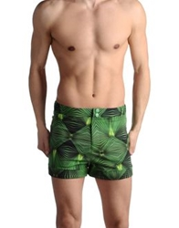 Adidas Slvr Swimming Trunks Green