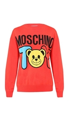 Moschino Printed Maxi Sweater Color
