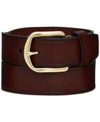 Alfani 35Mm Dress Belt Only At Macy's Brown