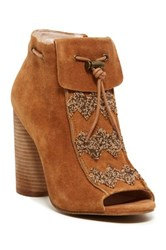 House Of Harlow Max Beaded Bootie Brown