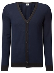 John Lewis Kin By Made In Italy Merino Blend Cardigan Navy