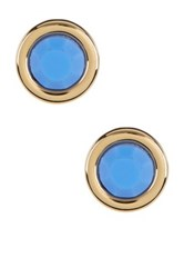 Marc By Marc Jacobs All Tied Up Rubber Stud Earrings Blue
