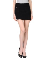 Paul And Joe Mini Skirts Black