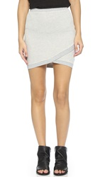 Pam And Gela Crossover Skirt Heather Grey