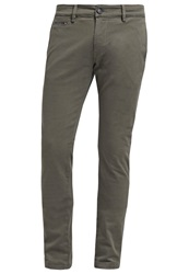 Diesel Chishaped Trousers Chinos 51F Oliv