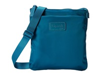 Lipault Paris Medium Crossbody Bag Aqua Cross Body Handbags Blue