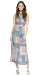 Paul Smith Floor Length Shirtdress Multicolor