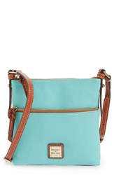 Dooney And Bourke 'Letter Carrier' Leather Crossbody Bag Green Mint