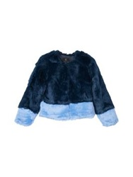 Unreal Fur Two Tone Classic Jacket Navy