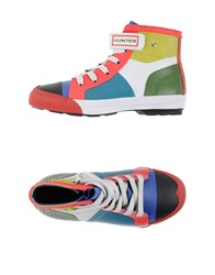 Hunter Footwear High Tops And Trainers Women White