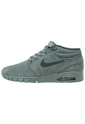 Nike Sb Max Hightop Trainers Hasta Seaweed Green Glow Dark Grey