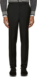 Burberry Black Stirling Slim Trousers