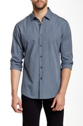 Vince Camuto Long Sleeve Slim Fit Shirt Blue
