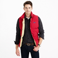 J.Crew Penfield Outback Vest Deep Red