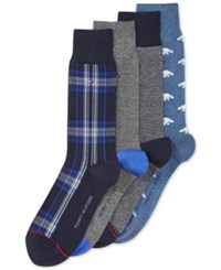 Tommy Hilfiger Polar Bear Socks 4 Pack