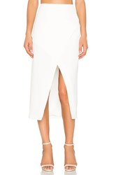 Finders Keepers High Road Skirt White
