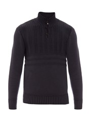 Inis Meain Funnel Neck Knitted Sweater