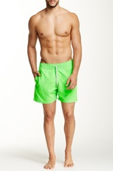 Le Club Neon Green Swim Short