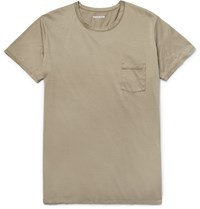 Nonnative Dweller Slim Fit Cotton Jersey T Shirt Mushroom
