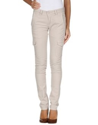 No. Sit Casual Pants Light Grey