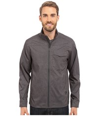 Prana Zion Jacket Charcoal Men's Coat Gray