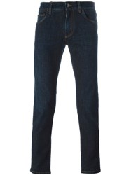 Dolce And Gabbana Tapered Jeans Blue