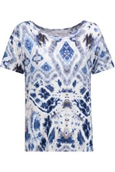 Kain Label Abilene Printed Modal T Shirt Multi