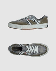 Collection Privee For Superga Sneakers Military Green