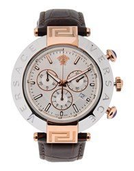 Versace Timepieces Wrist Watches Men Dark Brown
