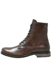 Sneaky Steve Vesper Laceup Boots Brown Dark Brown