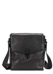 Hugo Boss Black Leather Cross Body Bag