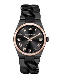 38Mm Channing Chain Link Watch Rose Gold Michael Kors