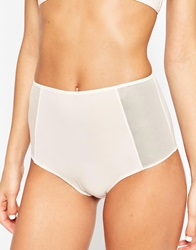 Weekday Star Highwaist Brief Pink
