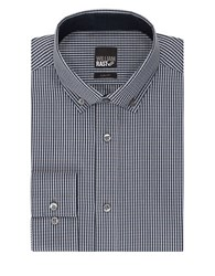 William Rast Slim Checked Dress Shirt Blue Frost