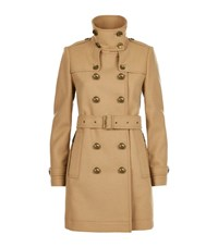 Burberry Brit Daylesmoore Wool Twill Trench Coat Female