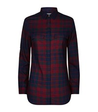 Barbour Heritage Brushed Cotton Tartan Shirt Female Black