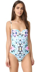 6 Shore Road Wild Tide One Piece Imperial Floral