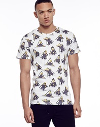 Eleven Paris Homer Sing Aop T Shirt