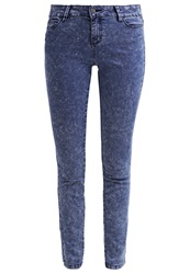 Evenandodd Slim Fit Jeans Blue Acid Wash Moon Washed