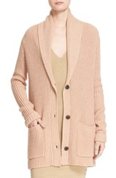 Atm Anthony Thomas Melillo Women's Shawl Collar Sweater Coat Ginger