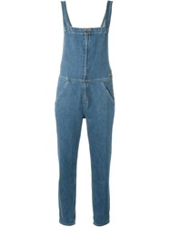 Mih Jeans 'Phalle' Dungarees Blue