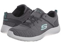 Skechers Energy Burst Charcoal Women's Lace Up Casual Shoes Gray